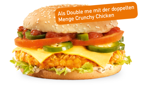 Hot Crunchy Cheese Double me