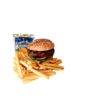Kids-Burger-Menü