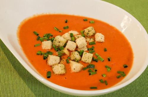 Tomaten-Kokos-Suppe