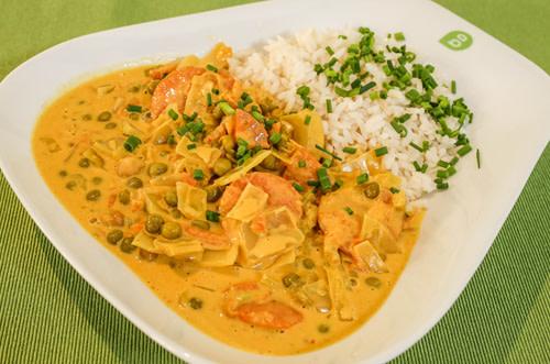 Gemüse-Curry-vegan