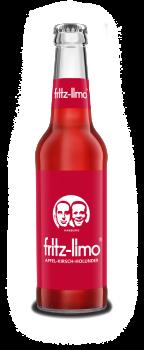 Fritz Limo Apfel-Kirsch-Holunder 0,33l