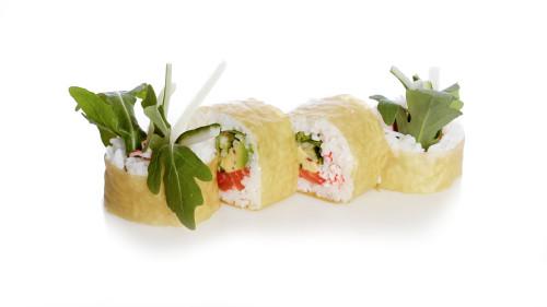 Green Salmon Roll (4 Stück)
