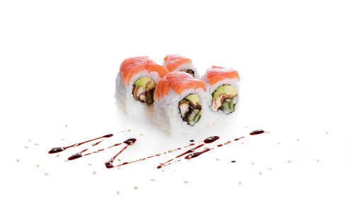 Salmon Roll (4 Stk.)