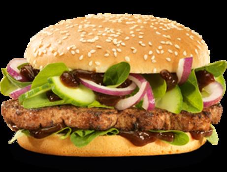 Teriyaki burger (Double-Me)