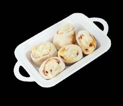 Pizzabrötchen Käse-Hinterschinken