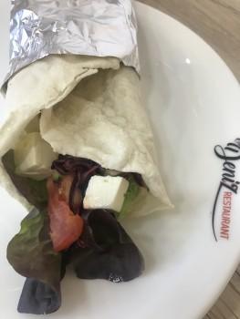 Käse dürüm / wrap