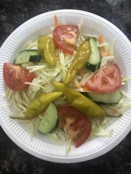 Kraut salat mit Tzaziki