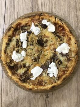 Pizza chef Kalb mittel