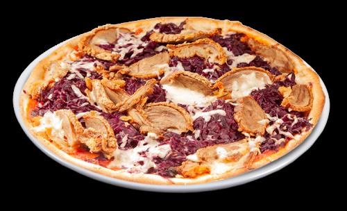Pizza Ente & Rotkohl Solo 25 cm