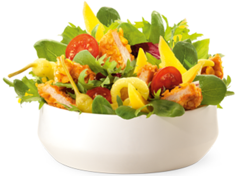 Crunchy Chicken Salade
