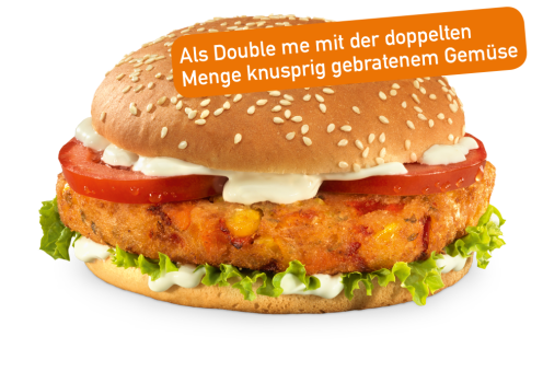 Veggie Burger Double me