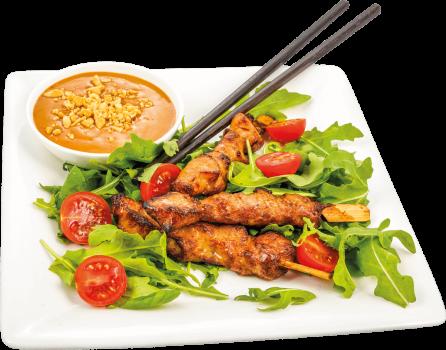 Chicken Teriyaki Spieße - 3 Stück