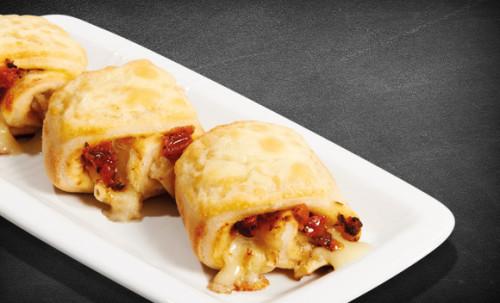 8 Pizzabrötchen Tomaten-Bruschetta