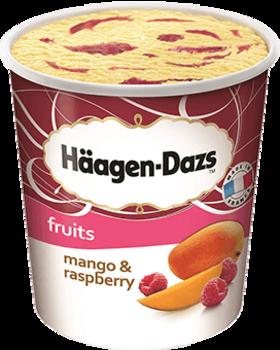Eis Mango Raspberry