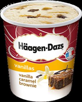 Eis Vanilla Caramel Brownie