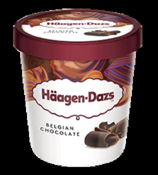 Haagen-Dazs Belgian Chocolate 460ml