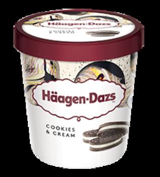 Haagen-Dazs Cookies & Cream