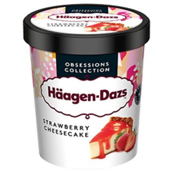 Haagen-Dazs Strawberry Cheesecake