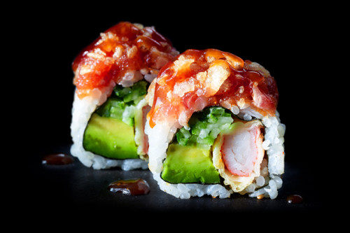 HOT CALIFORNIA ROLL