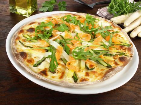 Pizza Veggie Spargelstecher