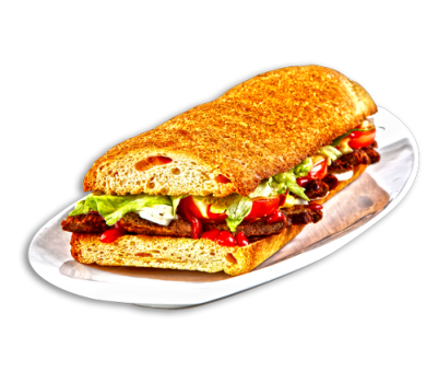 Baguette Hamburger Deluxe maxi