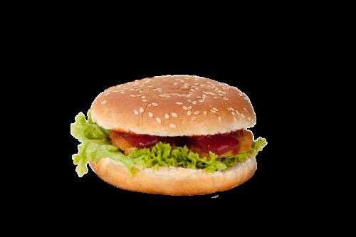 Nugget Burger  Menü