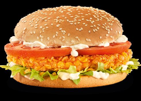 Crunchy Chicken burger (Double-Me)