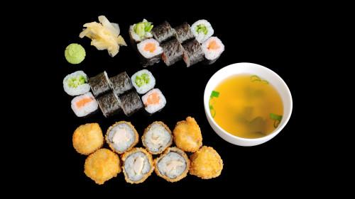 S24 - Studi Sushi Box + Miso Suppe