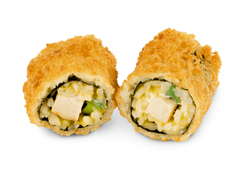 Mini Yoko Roll Curry Chicken - 8 Stück