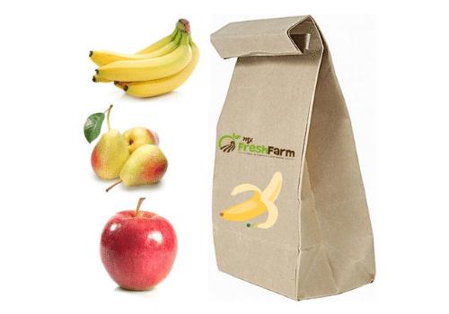 4 Kg Obst in Tüte