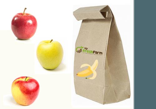 2 Kg Apfel der Saison in Tüte