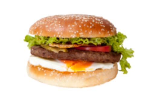 Spiegelei Burger<sup>A,F,V</sup>