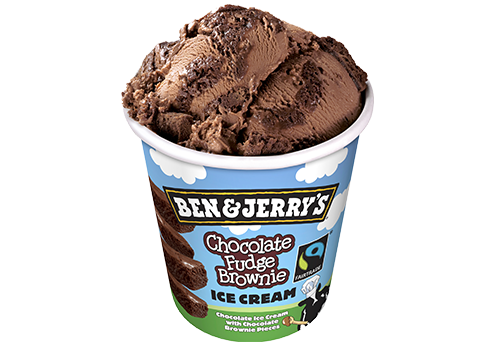 Ben & Jerry´s Chocolate Fudge Brownie 500ml