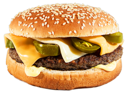 Chili Cheese Burger<sup>F,SR</sup>