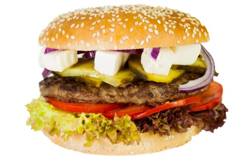 Schafskäse Burger