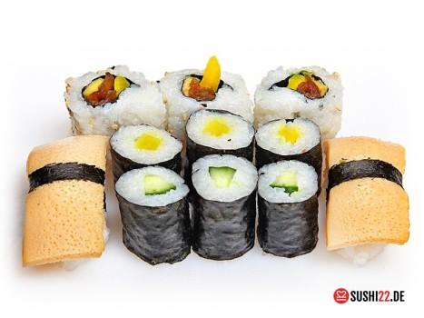 Sushi Box 1 NARITA 14Stk [Veggie ohne Fisch]