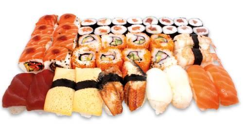 Sushi Box 85  Sendal (44 Stk)