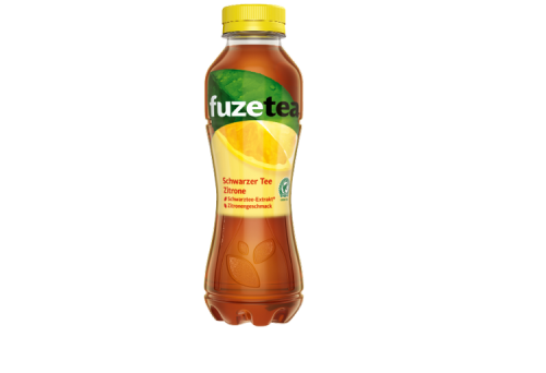 Fuze Tea - Schwarzer Tee Zitrone 0,4 L