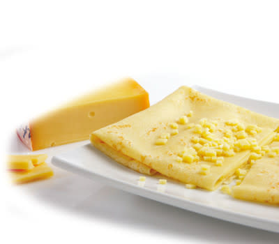 Crepes Falafel & Gouda