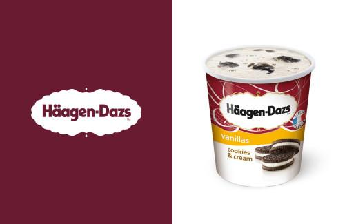 Häagen Dazs Cookie & Cream 500ml
