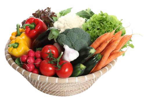 Gemüse Geschenkkorb