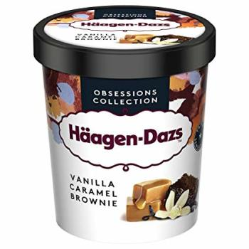 Häagen D. Eis Vanilla Caramel Brownie