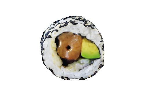 Inside Out Rolls Yakitori Honig Chicken (83)