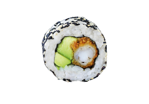 Inside Out Rolls frittierte Crunch Tempura Avocado (82)