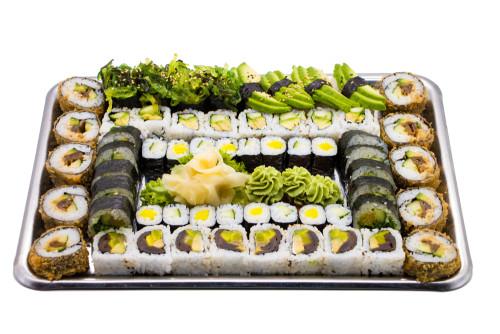 SushiBox C Chiba  Vegetarisch  60 Stk)