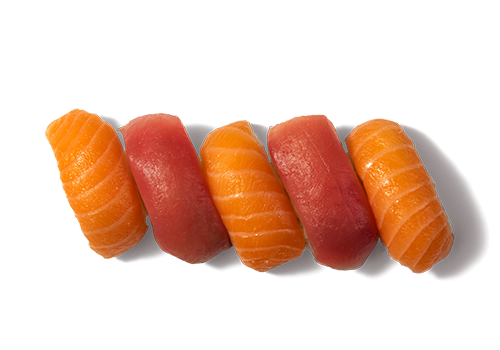 Nigiri Mix Lachs Tuna