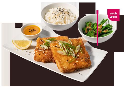 Tofu Tonkatsu Bento