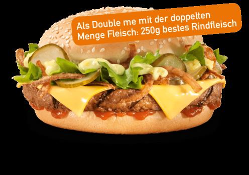 Hot Dog Burger Double me
