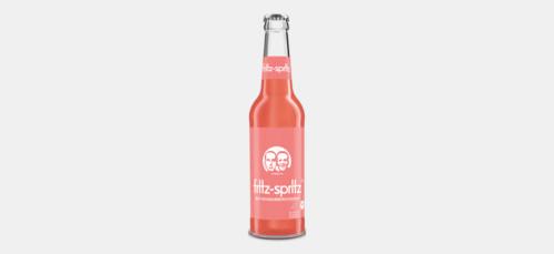 Fritz-Spritz Bio RhababerSaft Scholer, 0.33L
