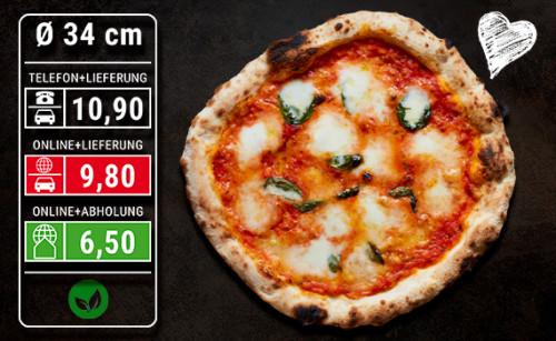 Pizza Margherita Ø 34cm